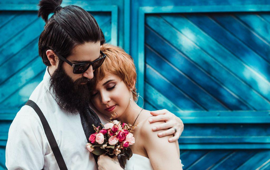 marijuana cannabis wedding day